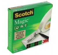 3M Scotch 810 Magic Tape 12mm x 66 Metres 8101266