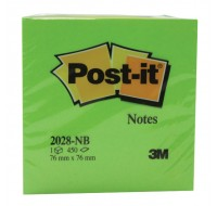 3M Post-it Neon Blue Cube 76x76mm 2028NB