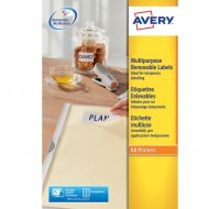 Avery Removable Laser Label 270 Per Sheet L4730Rev-25 (Fpc)
