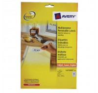 Avery Removable Laser Label 189 Per Sheet L4731Rev-25 (Fpc)