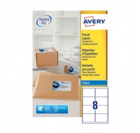 Avery Quickdry Inkjet Label 99.1 x 67.7mm 8 Per Sheet J8165-100