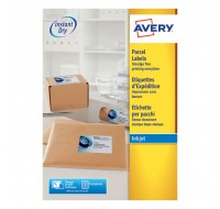 Avery Quickdry Inkjet Label A4 199.6 x 289.1mm 1 Per Sheet J8167-100