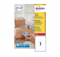 Avery Jam-Free Laser Label 199.6 x 289.1mm 1 Per Sheet L7167-100 (Fpc)
