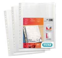 Bantex Clear Expanding Punched Pockets 100080753
