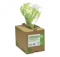 The Green Sack Clear Refuse Bags In Dispenser Box - Bin Bags