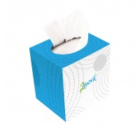 Maxima Cream Cube Tissue Box Of 100 X 24 KMAX10010 - Hygienic Tissues
