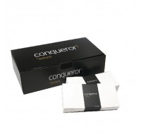 Conqueror Laid Brilliant White DL Envelopes 120gsm - High Quality Envelopes