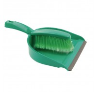 Bentley Dustpan and Brush Set Green 8011/G