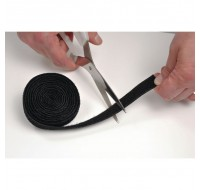 Cable Tidy Band Reusable Hook Loop 1.2M Black CTTAPE1.2B