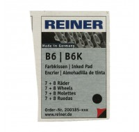 Colop Reiner B6/8K Replacement Pads RB8KINK PACK OF 2 - Stamp Pads