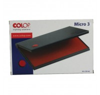 Colop Micro 3 Red Stamp Pad MICRO3RD - Stamp Pads