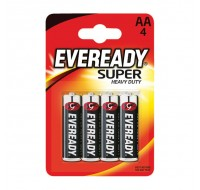 Eveready Battery Silver AA R6B4Up - AA Battery