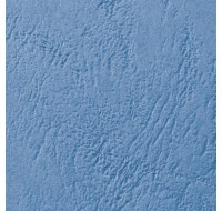 Acco Gbc A4 Binding Covers 250Gsm Textured Leathergrain Window Blue 46735E