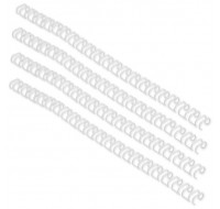 Acco Gbc A4 8Mm 34-Loop Wires 3:1 Pitch White Rg810570
