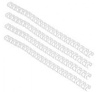 Acco Gbc A4 11Mm 34-Loop Wires 3:1 Pitch White Rg810770