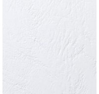 Acco Gbc A4 Binding Covers 250Gsm Textured Leathergrain Window White 46715E