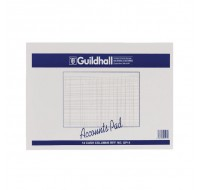 Guildhall 14-Column Cash Account Pad 298x406mm GP14