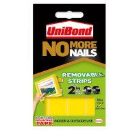 No More Nails Yellow Removable Strip 781739 - DIY Adhesive