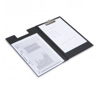 Rapesco Black Foolscap Executive Clipboard CD1L00B2 - Plastic Clipboards