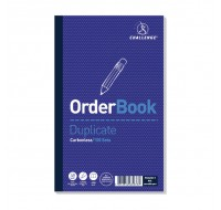 Challenge Carbonless Order Duplicate Book 210x130mm 100080400