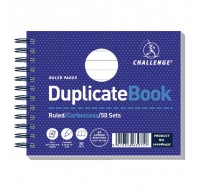 Challenge Carbonless Ruled Feint Duplicate Book 105x130mm 100080427