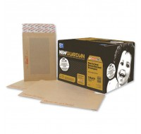 New Guardian Peel And Seal Board-Back Manilla C3 Envelopes 125gsm - Board Back Envelopes