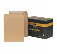 New Guardian Self-Seal Manilla Envelopes 305x250mm 130gsm- Non-Standard Envelopes