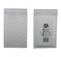 Jiffy White JiffyLite Airkraft Bag 115x195mm JL-00 - Padded Envelopes Ireland