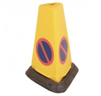 JSP No Waiting Weighted Yellow Cone 0555001