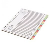 Concord Reclaim Divider A4 20-Part 48699 - File Dividers