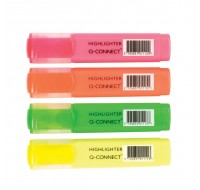 Q-Connect Wallet Of Assorted Highlighter Pens KF01116