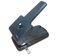 Q-Connect Black Extra Heavy Duty Hole Punch KF01237