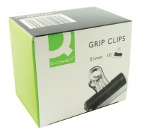 Q-Connect 51mm Grip Clips KF01289