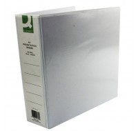 Q-Connect 65mm White A4 4D-Ring Presentation Binder KF01334