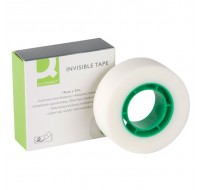 Q-Connect Invisible Tape 19mm x 33 metres KF02164