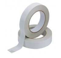 Q-Connect Double Sided Tape 25mm x 33 Metres KF02221 - Double Sided Tape