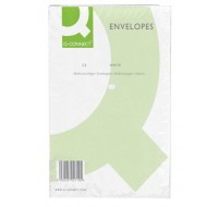 Q-Connect Plain Peel And Seal White C5 Envelopes 100gsm KF03289 - C5 Envelopes