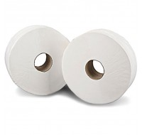 2Work 200 Metre 2-Ply Jumbo Toilet Roll