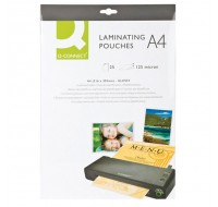 Q-Connect Laminating Pouch A4 125Micron KF04120