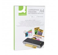 Q-Connect Laminating Pouch A4 Sticky-Backed KF24056