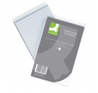 Q-Connect 150 Leaf Ruled Feint Shorthand Notebook 203 x 127mm KF31002