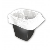 Q-Connect White Square Bin Liner KF73380 - Bin Bags