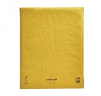 Mail Lite Gold Peel And Seal Bubble Lined Postal Bag 350x470mm MLGK/7 - Padded Envelopes Ireland