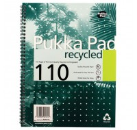 Pukka Pad 100 Page A4 Quality Recycled Pad 80gsm