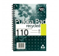 Pukka Pad 110 Page Quality Recycled A5 Pad 80gsm RCA5110