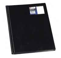 Rexel Black Slimview 12-Pocket A4 Display Book