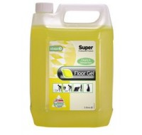 Super Brand 5L Lemon Gel Floor Cleaner - Floor Cleaning Detergents
