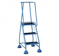 VFM 3-Tread Light Blue Step 385134 - 3 Step Ladder