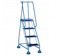 VFM 4-Tread Light Blue Step 385138 - 4 Step Ladder