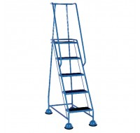 VFM 5-Tread Step Light Blue 385142 - 5 Step Ladder